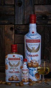 Rushkinoff Vodka Caramel