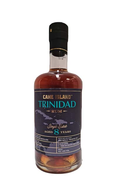 Cane Island rum 8 year